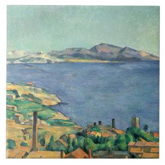 Carreau Paul Cezanne - le Golfe de Marseille