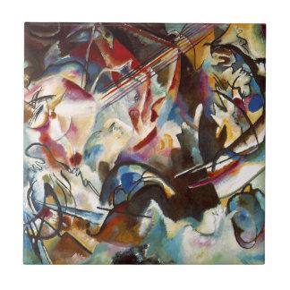 Carreau Peinture abstraite de la composition VI en