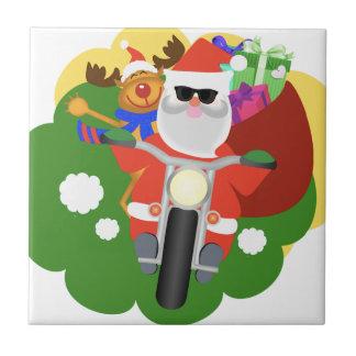 Carreau Père Noël avec le sac de Goodie
