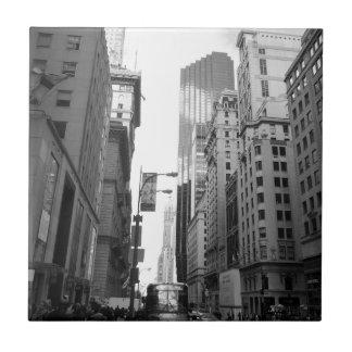 Carreau Photographie de gamme de gris de New York City