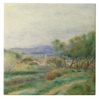Carreau Pierre une vue de Renoir | de La Seyne, Provence