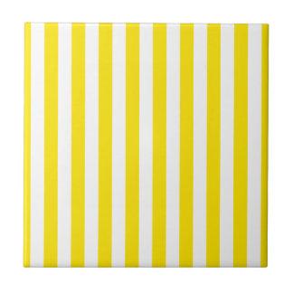 Carreau Rayures jaunes verticales
