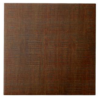 Carreau Regard du bois en bambou rustique de texture de