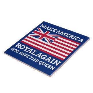 Carreau Rendez l'Amérique royale encore
