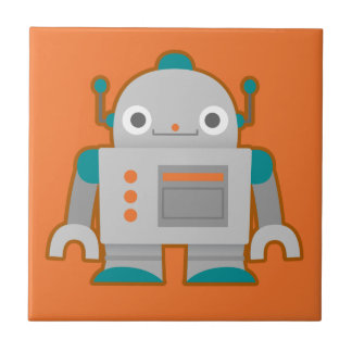 Carreau Robot gris mignon