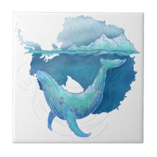 Carreau Sanctuaire de baleine d'océan du sud