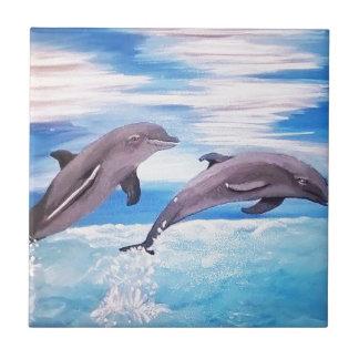 Carreau Saut de dauphin