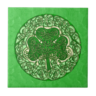 Carreau Shamrock celtique