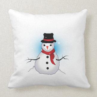 Carreau Snowman2 Coussin Décoratif