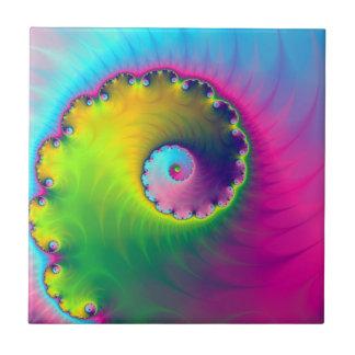 Carreau Spirale de lavage de couleur de tuile