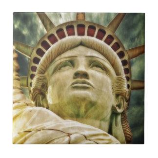 Carreau Statue de la liberté