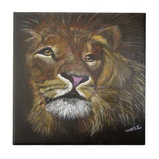 Carreau Tête de lion