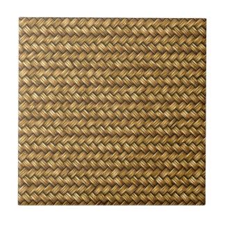 Carreau Texture de motif d'armure de panier de couleur de