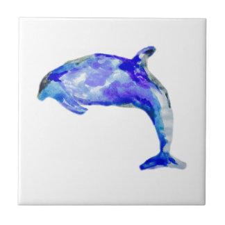 Carreau Trépied bleu de dauphin