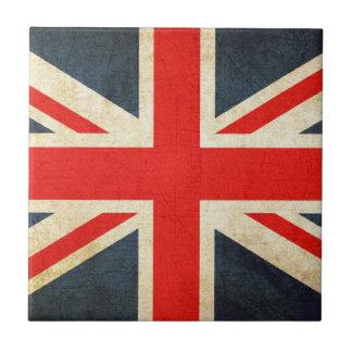 Carreau Tuile BRITANNIQUE affligée de cadeau d'Union Jack