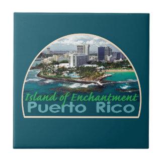Carreau Tuile carrée de PORTO RICO