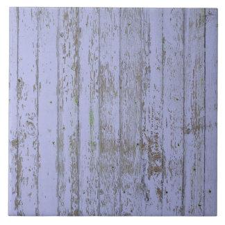 Carreau Tuile carrée de texture en bois de Faux de lavande