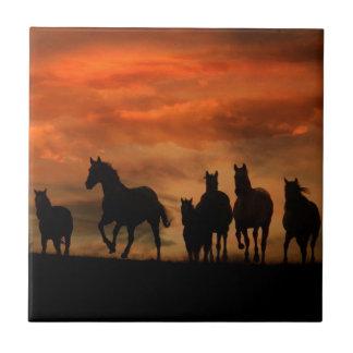 Carreau Tuile d'art de cheval