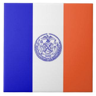 Carreau Tuile de drapeau de New York City