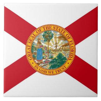 Carreau Tuile de drapeau d'état de la Floride