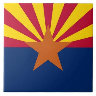 Carreau Tuile de drapeau d'état de l'Arizona