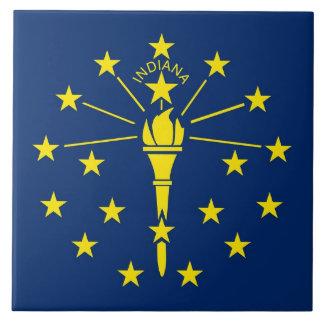 Carreau Tuile de drapeau d'état de l'Indiana