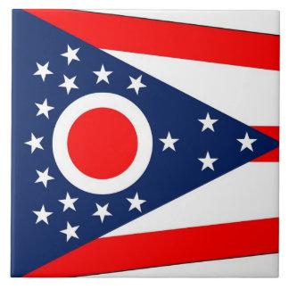 Carreau Tuile de drapeau d'état de l'Ohio