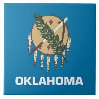 Carreau Tuile de drapeau d'état de l'Oklahoma