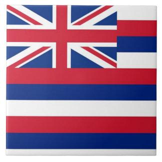 Carreau Tuile de drapeau d'état d'Hawaï
