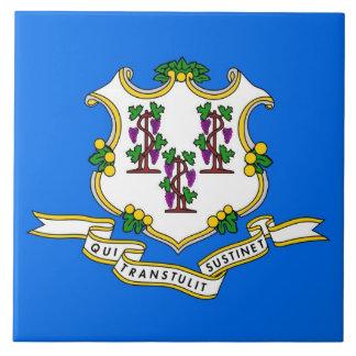 Carreau Tuile de drapeau d'état du Connecticut