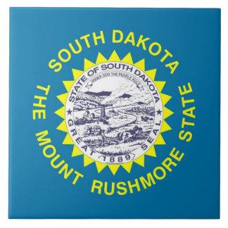Carreau Tuile de drapeau d'état du Dakota du Sud