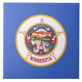 Carreau Tuile de drapeau d'état du Minnesota
