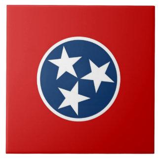 Carreau Tuile de drapeau d'état du Tennessee