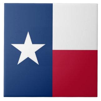 Carreau Tuile de drapeau d'état du Texas
