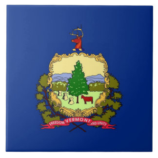 Carreau Tuile de drapeau d'état du Vermont
