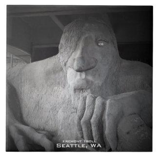 Carreau Tuile de photo de Seattle Fremont Troll