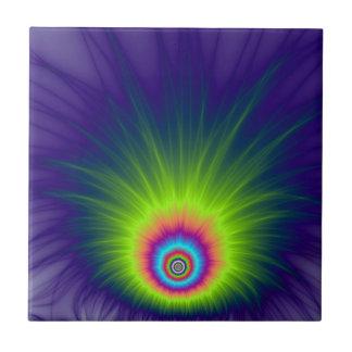 Carreau Tuile d'explosion de couleur