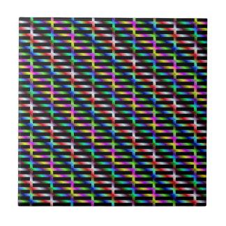 Carreau Tuile diagonale de grille de couleur