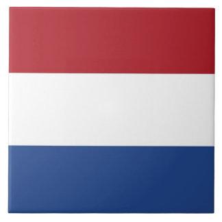 Carreau Tuile néerlandaise de drapeau