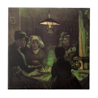 Carreau Van Gogh ; Les mangeurs de pomme de terre,