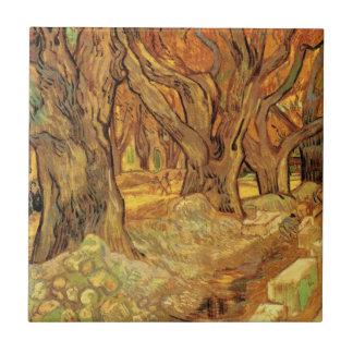 Carreau Van Gogh les raccomodeurs de route, beaux-arts