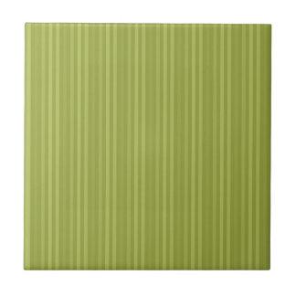 Carreau Vert olive de motif de rayures verticales