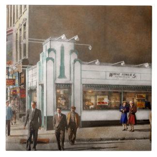 Carreau Ville - Amsterdam NY - hamburgers 5 cents 1941