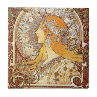 Carreau Zodiaque par Alphonse Mucha