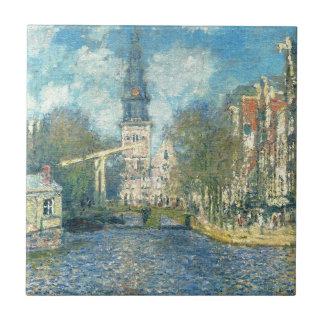 Carreau Zuiderkerk à Amsterdam par Claude Monet
