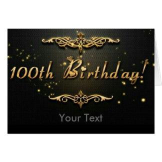 Carte 100th Anniversaire !