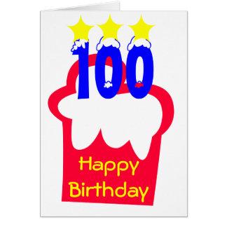 Carte 100th Anniversaire