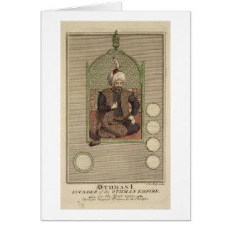 Carte 1259-1326) fondateurs d'Osman I (de l'empire de