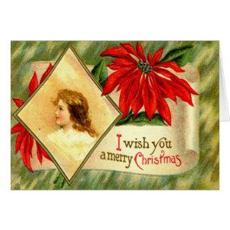 Carte 1911 je vous souhaite un Joyeux Noël