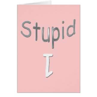Carte 1 stupide